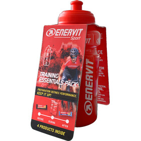 Enervit Test Pack with Bottle and 4 products inside, Orange/Coco Chocolate